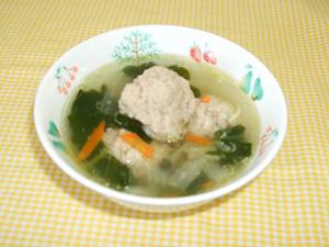 の 肉 団子 スープ と 白菜 鶏団子と白菜の春雨スープ レシピ・作り方